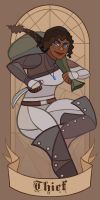 Aedre the Thief by caiterprince