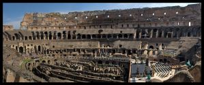 Internal Colosseum by Vagrant123