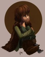 Little Hiccup by inhonoredglory