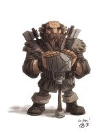 Dwalin by OtisFrampton