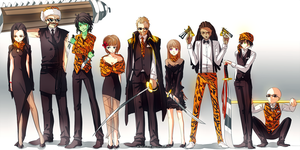 Bengals Crew by KidCurious