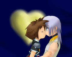 Soriku: I'm so glad to be back with you, Riku by TemmieVega1999