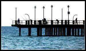 Alassio Pier by kanes
