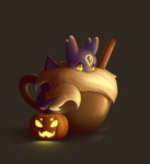 Halloween 2015: Pumpkin Spice Mokka by streetdragon95