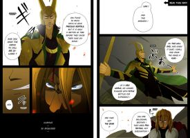 Avengers 2012 Alternate Ending 'Goodbye' p3-4 by clairebearer