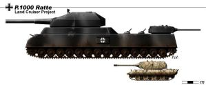 P 1000 Ratte by nicksikh