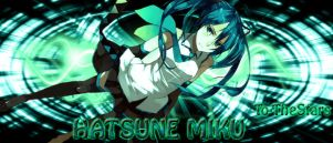 Hatsune Miku Wallpaper by To-TheStars