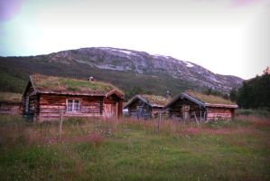 Norwegian Cottages by Navanna