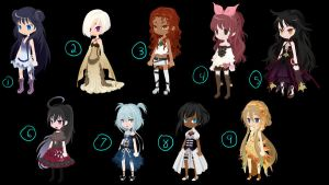 Selfy Girl adopt compilation (OPEN) by Just4funadopts