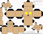 Glowing Eyes Danbo Cubeecraft by LimeTH