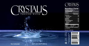 Crystalis Water Label by robertllynch