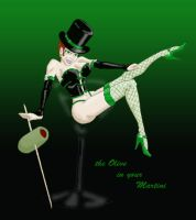Olive in your Martini by spyboygreen
