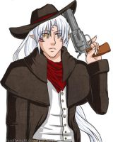 Sesshoumaru the Outlaw by FoxOfTwilight