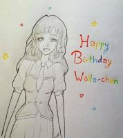 Happy Birthday Walla-chan!!~ by Saracaa