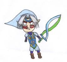 Chibi Fierce Deity Link by narutardednerd