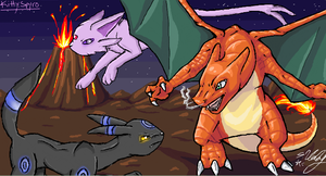 iScribble with KittySpyro 2 by Kiuna-chan