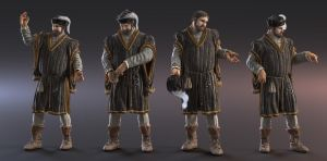 Late Medieval Merchant v2 by MacX85