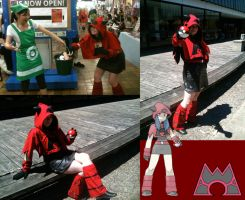 Cosplay: Team Magma Grunt by Zephyros-Phoenix