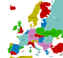 Map of Europe by AY-Deezy