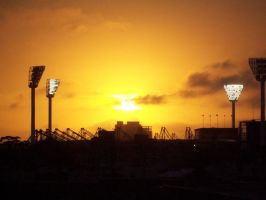 MCG, sunset by illused