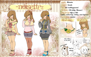 Crimson Anthesis: Noisette Ref by Desiree-U