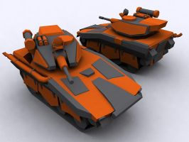 Scavengers light tank by FF-Design