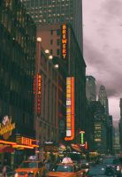 NYC streets by Psiryus