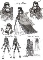 Lady Alice - Sketches by kamon-san