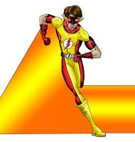Bart Allen - Flash in color by MShades