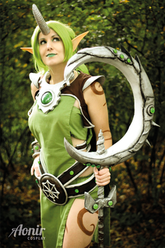League of Legends Soraka Dryad Cosplay by Ao-nir