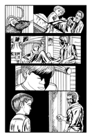 Hiding in the Shadows Inked page 2 preview by eMokid64