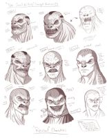 The Soul Killers Concept Studies by MyFantasiWorld