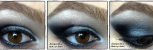 winged smokey eye look by KatelynnRose