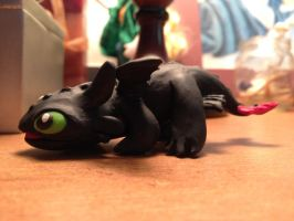 Lil Toothless by HikariKage-Cat
