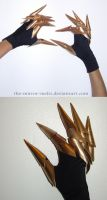 Shiva FFXIII Claw Gloves by the-mirror-melts