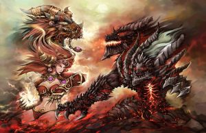 Dragon Wars by liuhao726