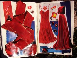 1st Altered Book 37, Favorites by angelstar22