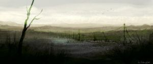Marshlands speedpaint by Ben-Andrews