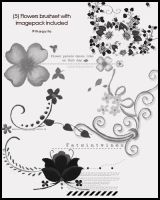 flowers brushset by 9thaquilo