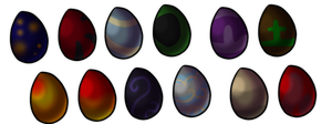 Egg adopts batch 1: CLOSED by Nymfadoptables