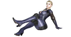 Jill Valentine Legs Crossed 1 by nashdnash2007