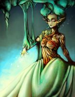 .:The Lady of the Forest:. by BlissfulGold