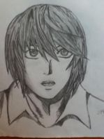 Light Yagami - Death Note by doubleu42