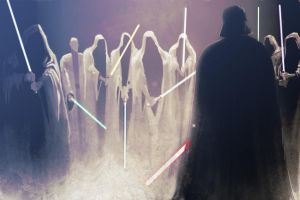 Conclave on Kessel. Darth Vader Against 8 Jedi by GoonCaptain