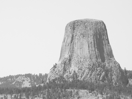 Devil's Tower by BettaRae