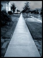 Where the Sidewalk Ends. by lacelle