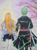 Say Forever by Cloudy(Zoro Nami) by BelleLoveZoro
