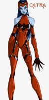 Redesign: Catra by persephohi