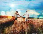 Love behind the sky by DesignUniverse