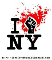 Occupy Wall Street Logo by Conservatoons